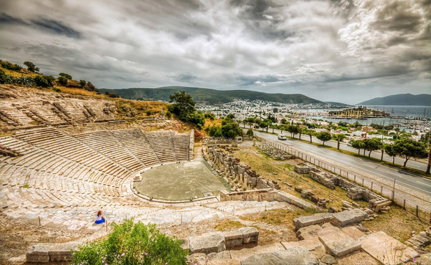 Bodrum's amphitheater is still used for events and performances today