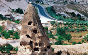 Cave houses and monasteries in Cappadocia