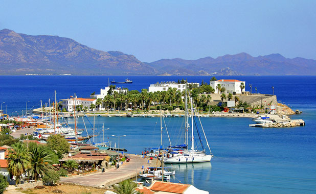 The pretty, laid back seaside town of Old Datca