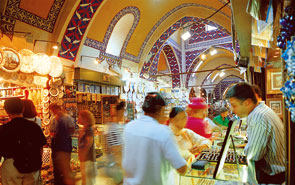 The Grand Bazaar - Kapali Carsi in Istanbul