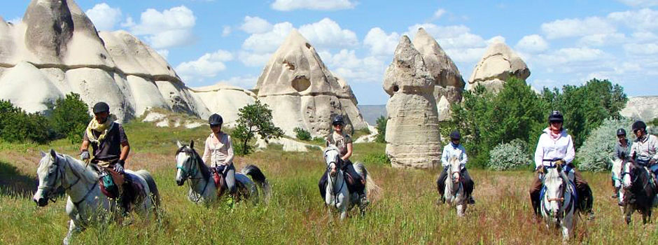 Horse Riding Adventures On Holiday In Cappadocia