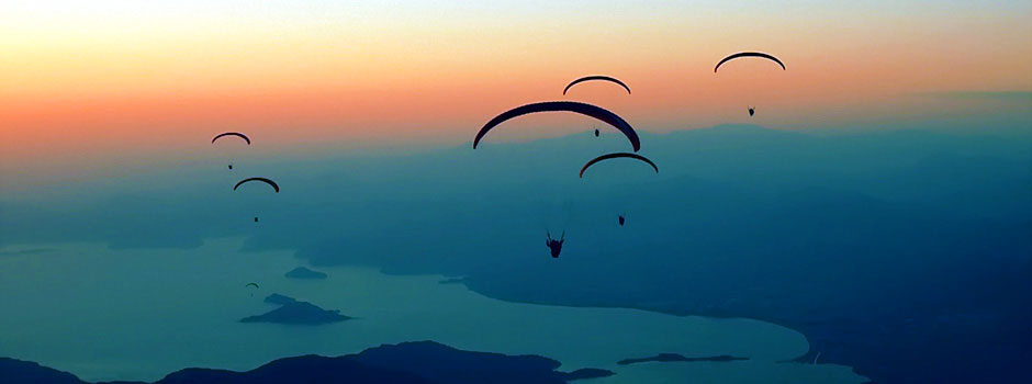 Paragliding From Mount Babadag Onto Famous Olu Deniz Beach
