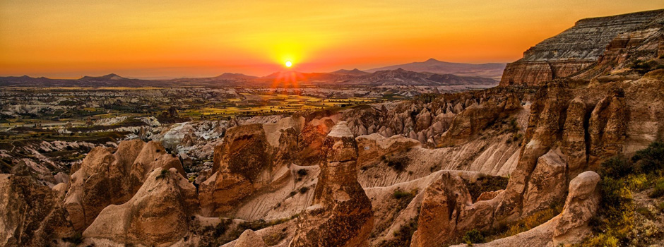 The Mystifying Red Valley in Cappadocia
